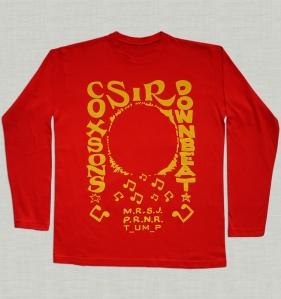 Sir Coxson tShirt Red LongSleeve
