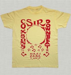 Sir Coxson tShirt Yellow