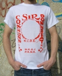 Red & White '45' Tee
