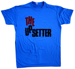 ORIGINAL Royal blue Upsetter tribute tee..