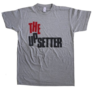 the Upsetter tribute tee exclusively at bloodsweatandtees