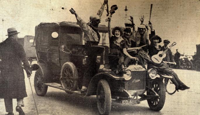 Kings Rd Revellers.1920s